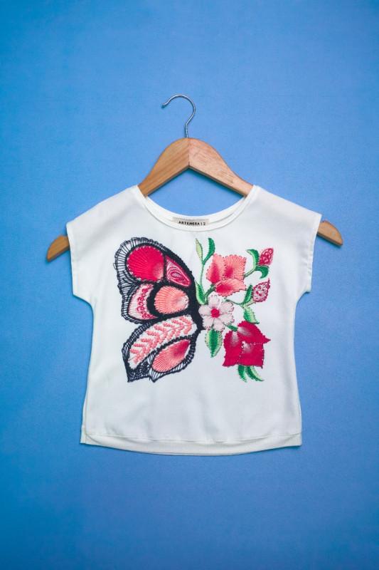 Artemerita Mariposa de Ñanduti y Flores (Saldo de Fábrica)  ART 310800